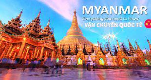Gửi hàng đi Myanmar